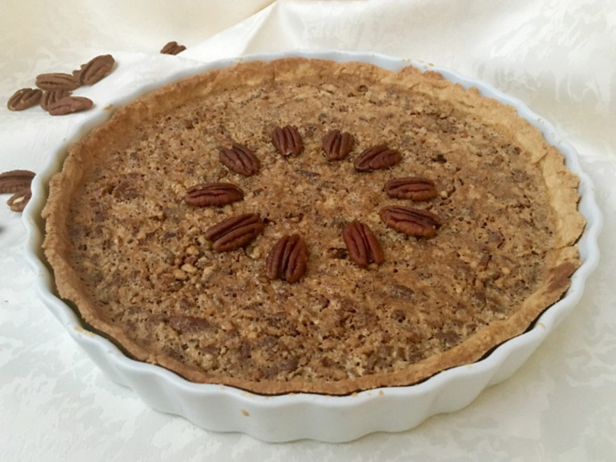 Old-Fashioned Maple Pecan Pie Recipe