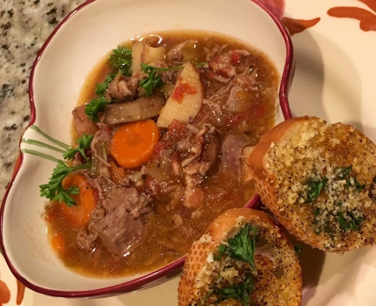 Crock Pot Lamb Stew