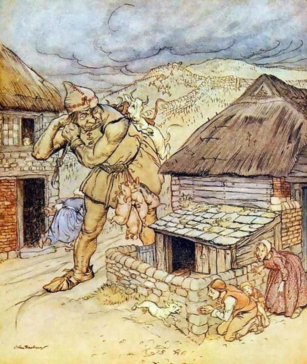 British Giant (Arthur Rackham)