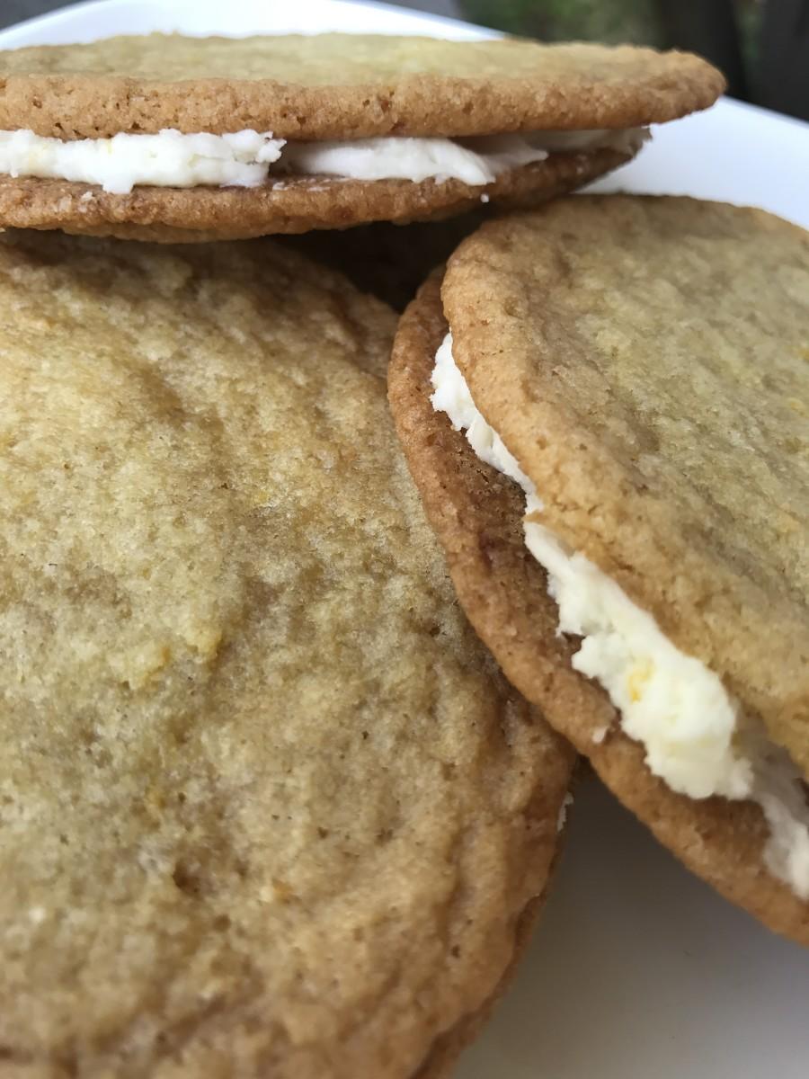 Lemon Sugar Sandwich Cookies