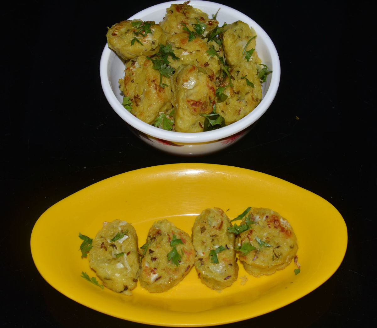 Serve these cabbage dumplings with a hot and spicy dip.