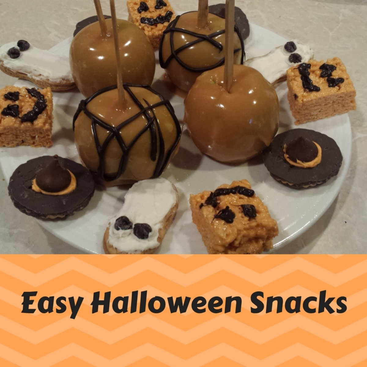 easy snacks for Halloween