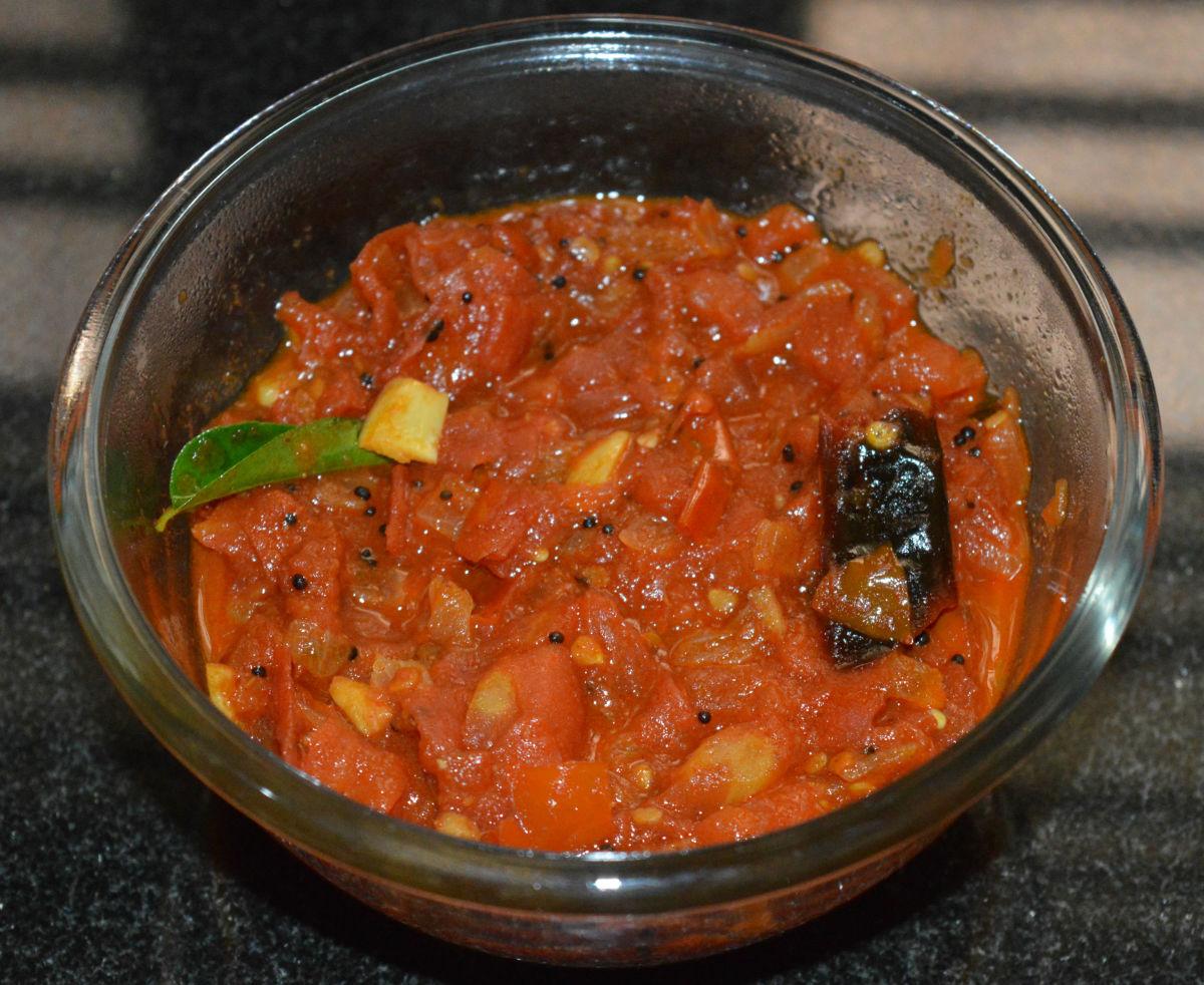 Easy tomato curry