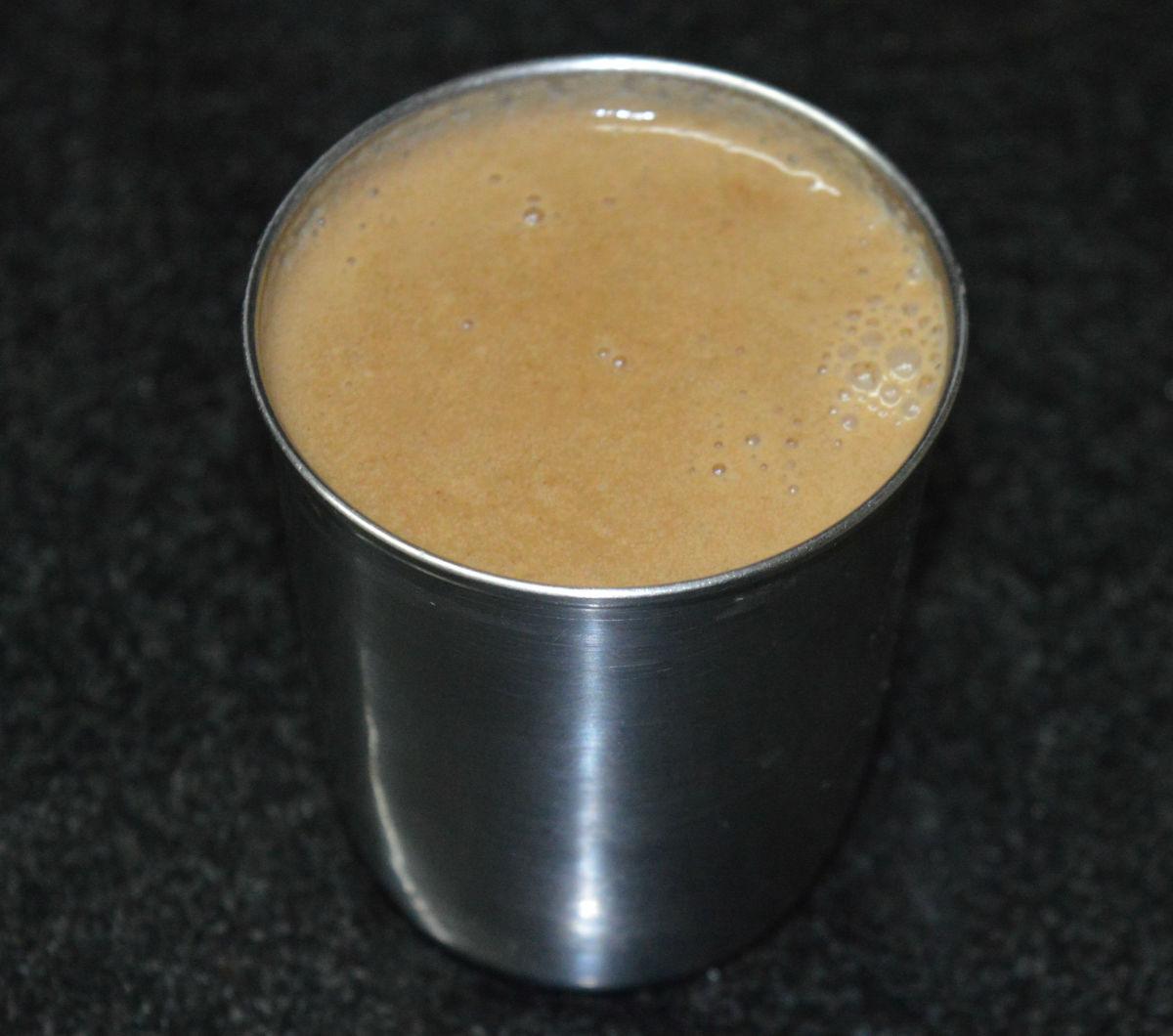 Poppy seed beverage or gasagase payasa