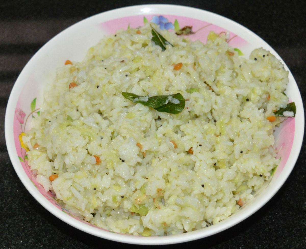 Creamy Avocado Rice or Butter Fruit Rice Recipe