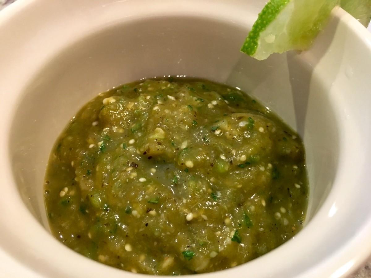 Ancho Tomatillo Sauce