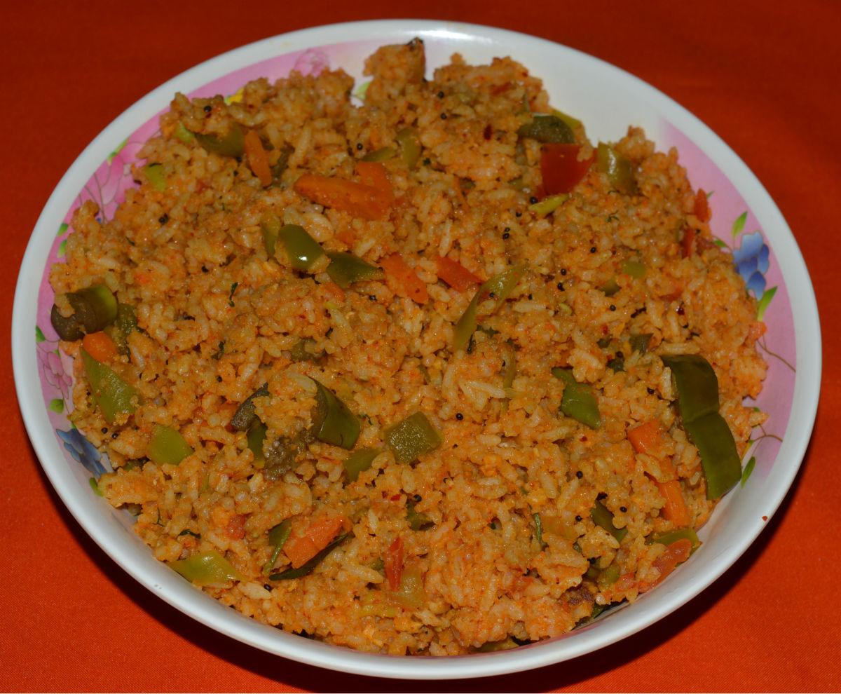 Rice Recipes: How to Make Eggplant Rice or Vangi Bath