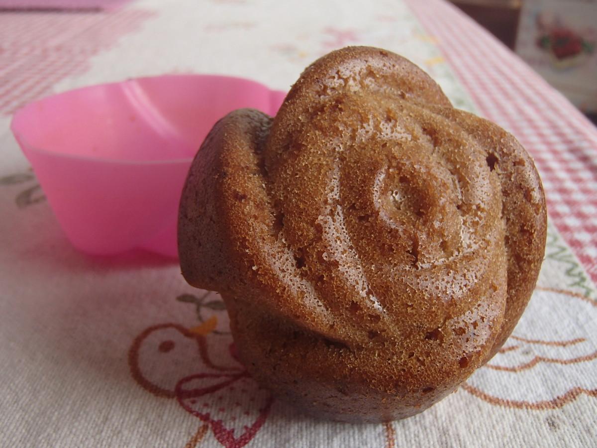Rose muffin