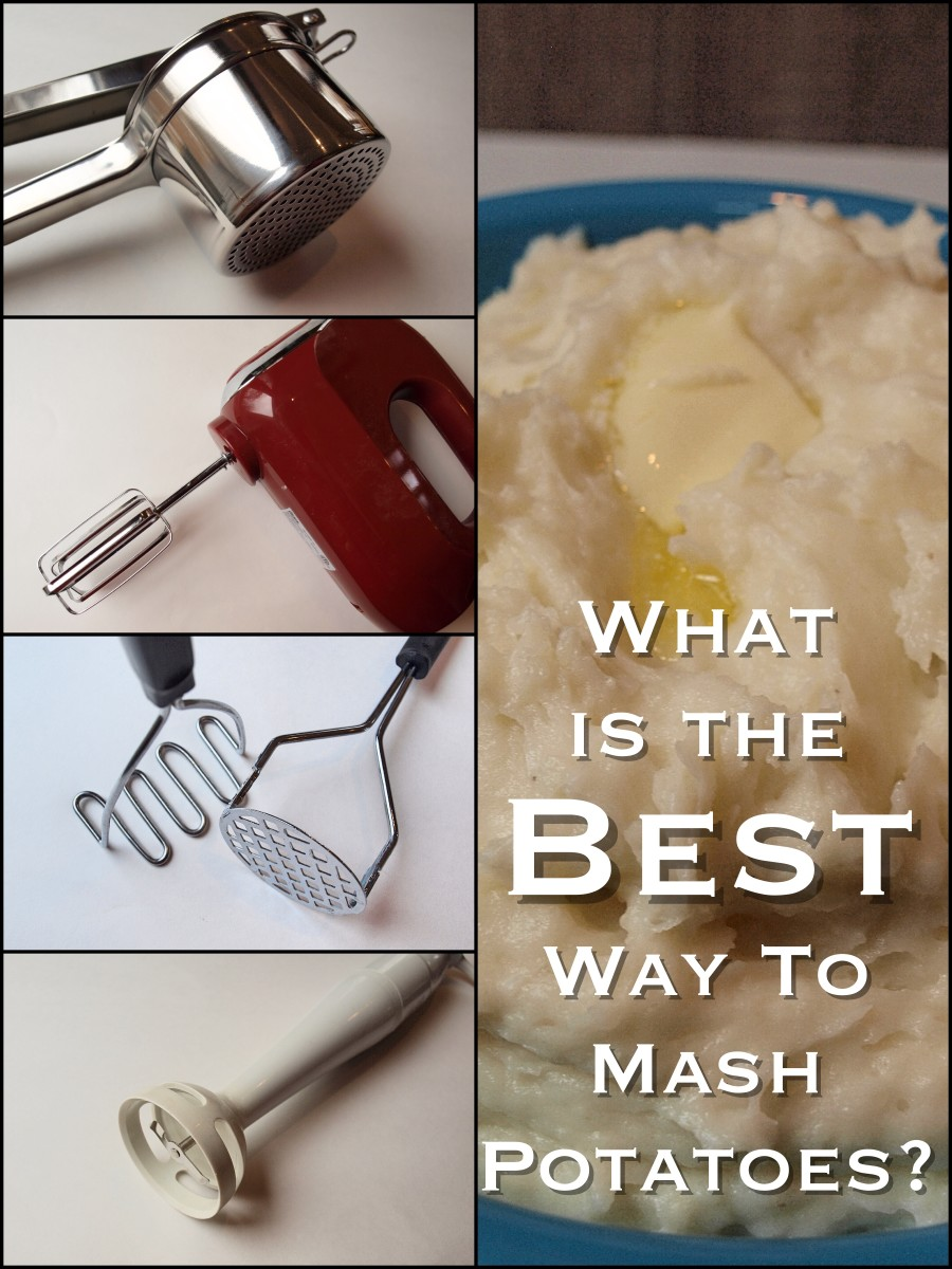 There are a lot of different ways to mash potatoes, but this one is better than all the rest.