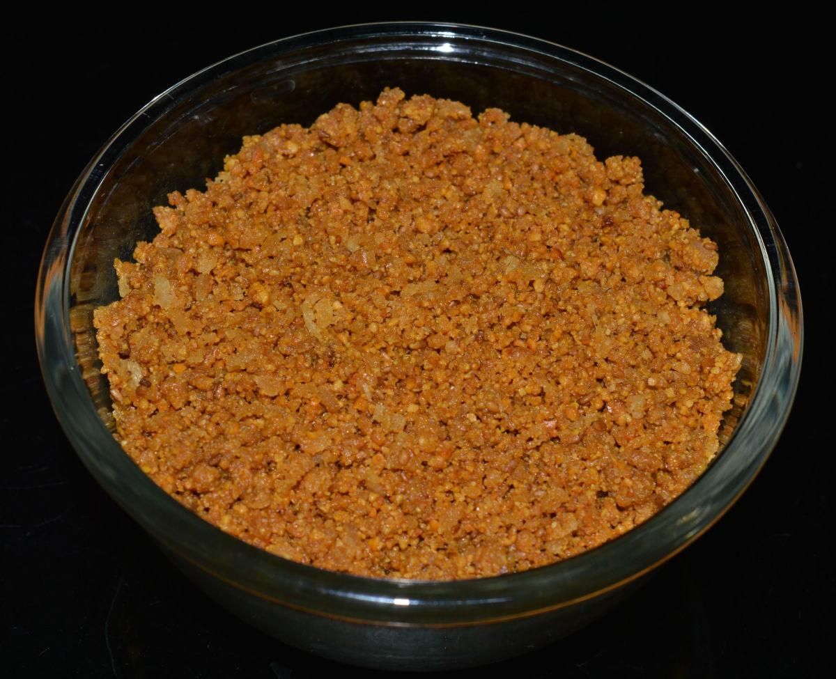 How to Make Split Chickpea Coconut Sweet Snacks (Kadale Panchakajjaya)