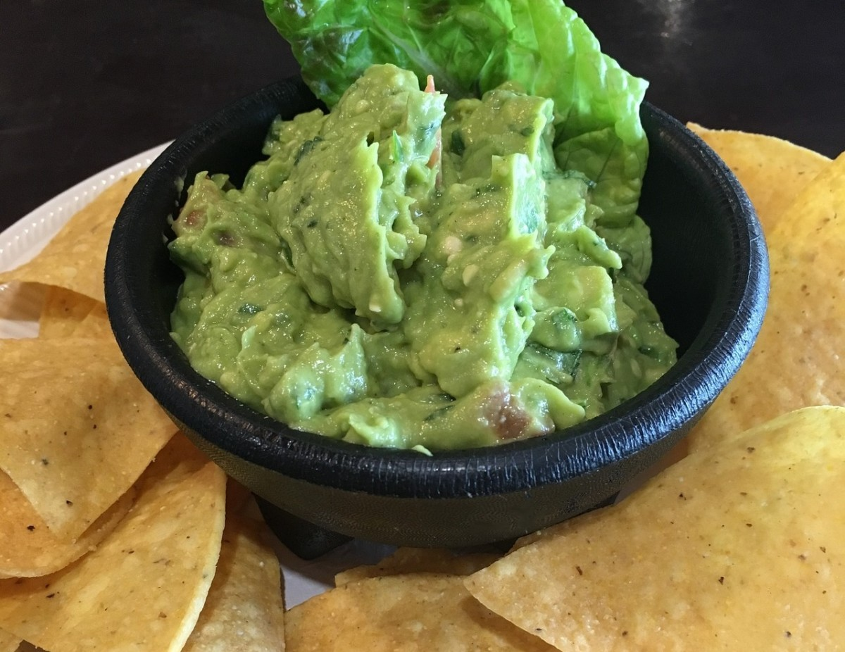 Fresh, homemade guacamole is easy to make.
