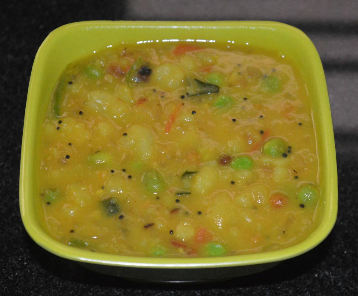 How to Make Bombay Sagu Potato Curry
