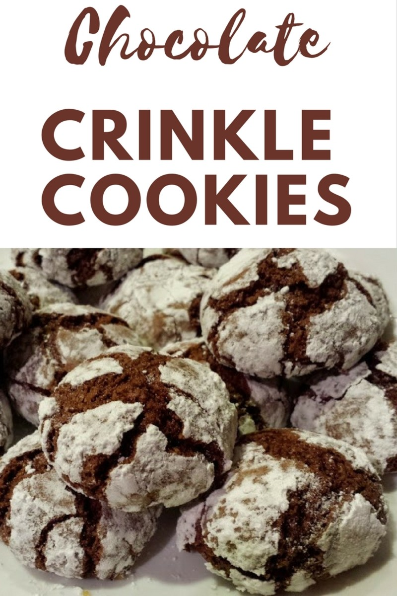 This article will show you how to make my beloved no-chill chocolate crinkle cookies.