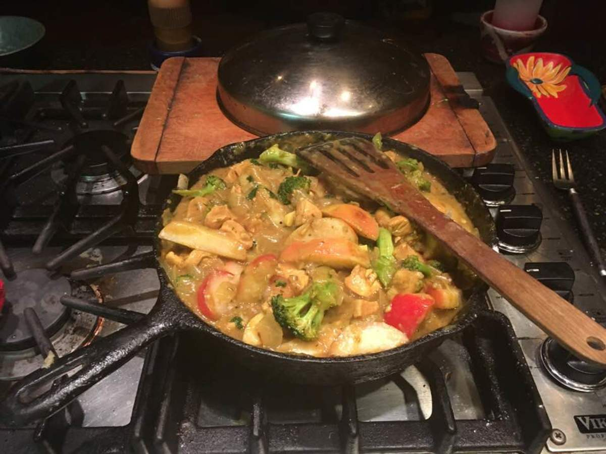 Franco-Indian Curry Recipe
