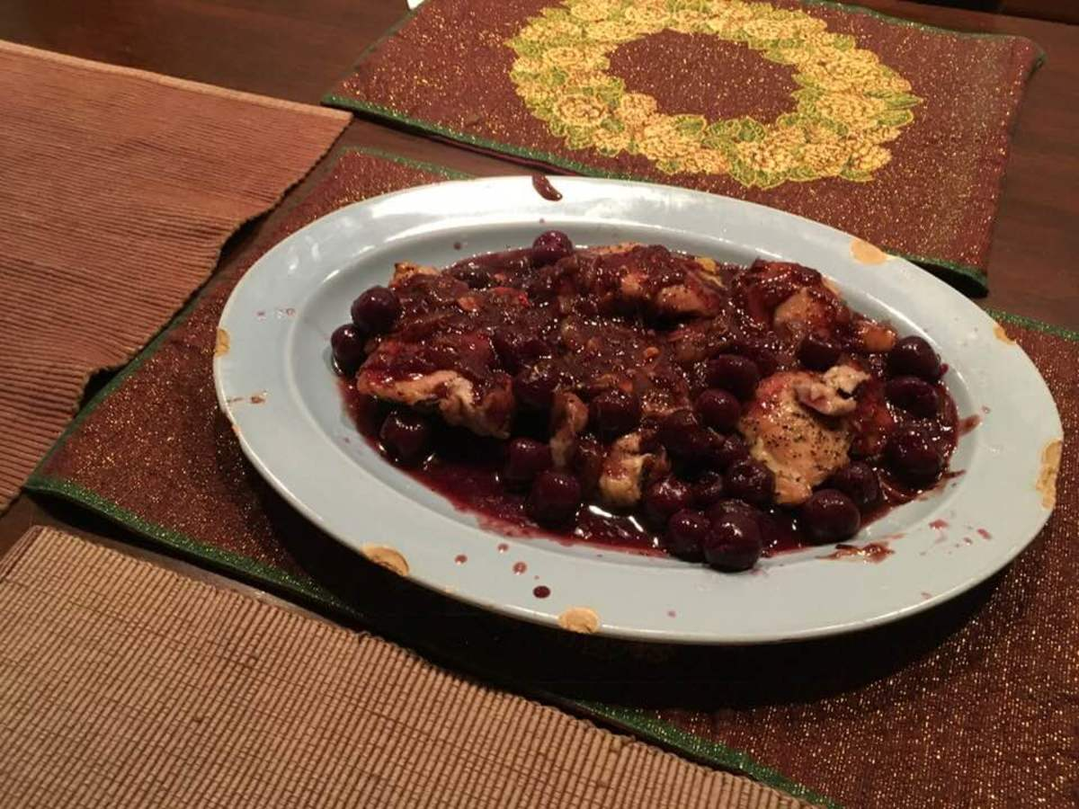 french-roasted-chicken-in-a-cherry-madeira-sauce-recipe