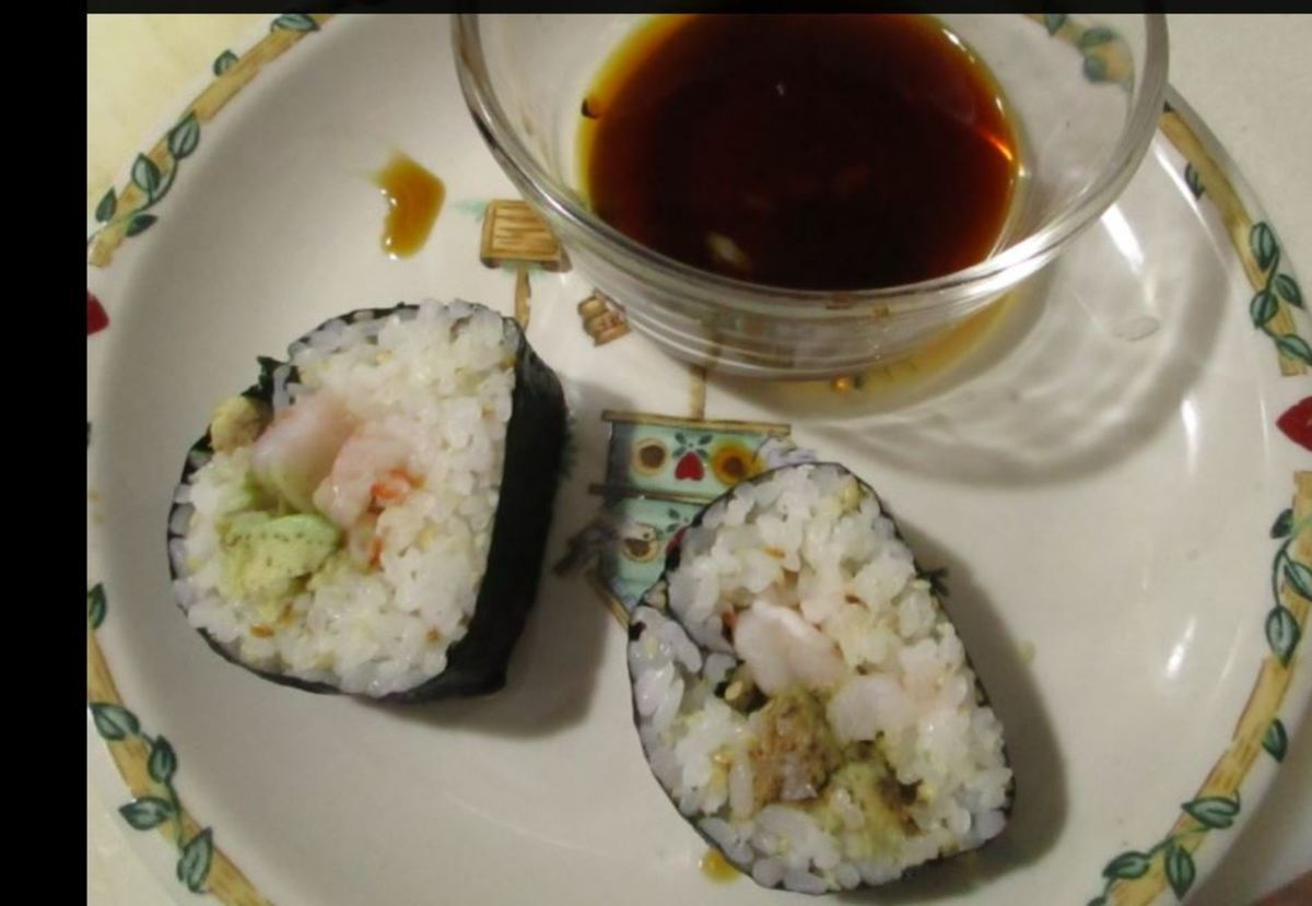 Minnesota Cooking: Making Sushi Rolls From Scratch