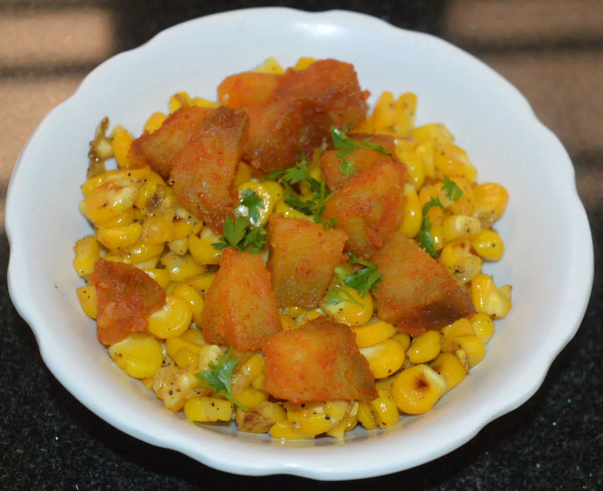 How to Make Sweet Potato and Sweet Corn Salad