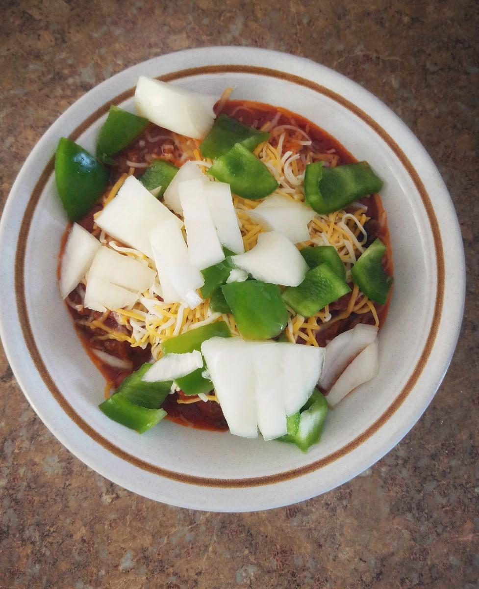 Simple, delicious chili.