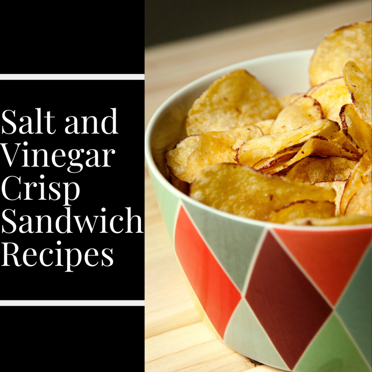 Salt and vinegar crisps are absolutely perfect on sandwiches.