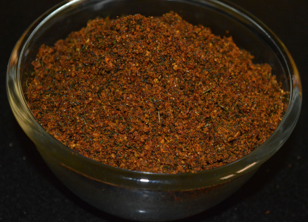 Green Coriander Chutney Powder