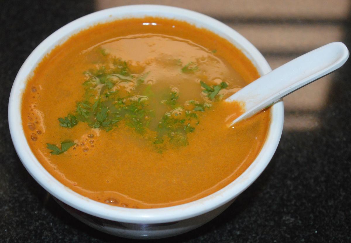 Kohlrabi (Knol-Khol) Soup