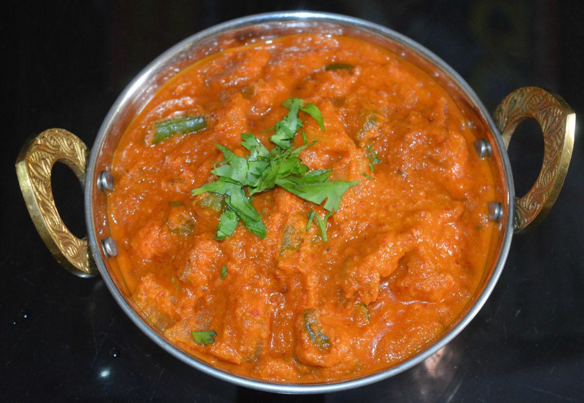 Veggie Kolhapuri Curry