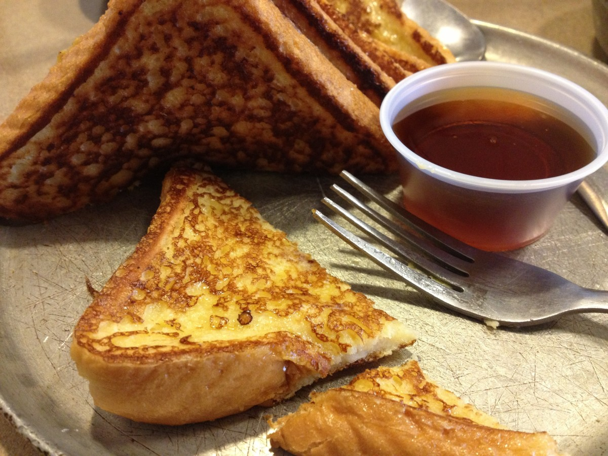 You can't go wrong with basic French toast.
