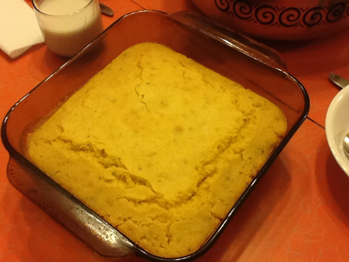 Simple Cornbread Recipe