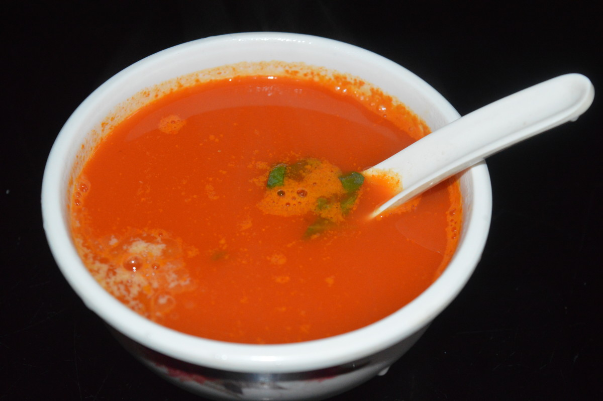 Pureed Mixed Vegetable Soup Recipe