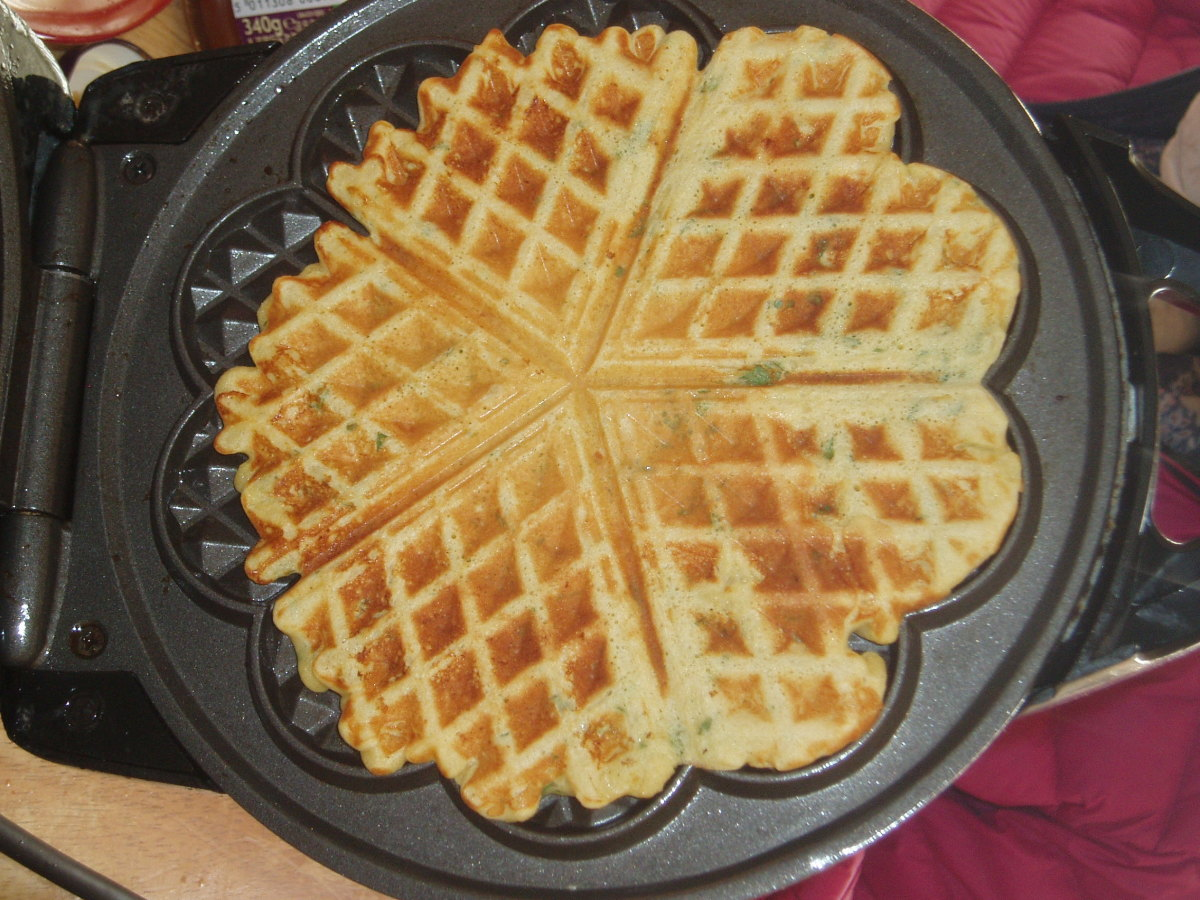 How to Make Hot Waffles