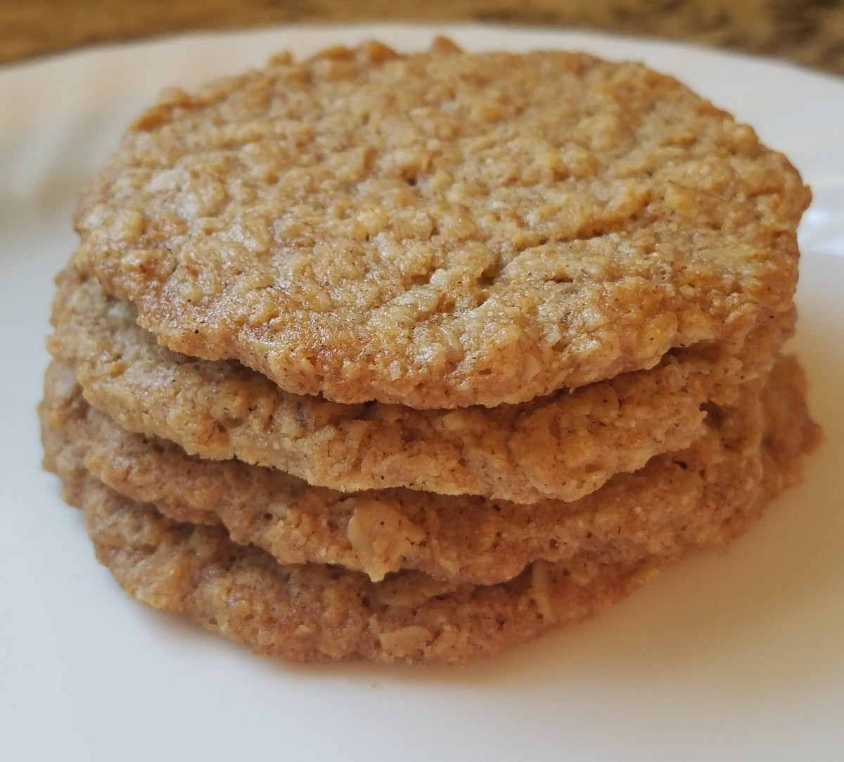 You'd Never Know It's Vegan: Crispy Oatmeal Cookie Recipe