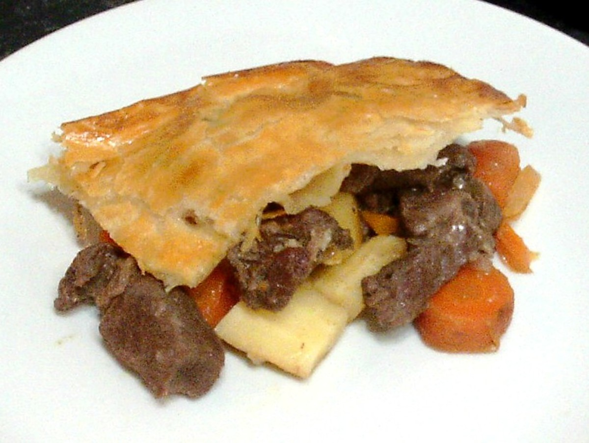 Alpaca and Root Vegetable Pie Recipe