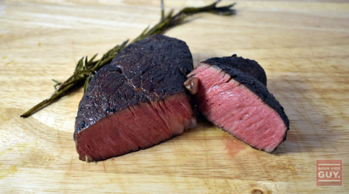 Perfect sous vide steak