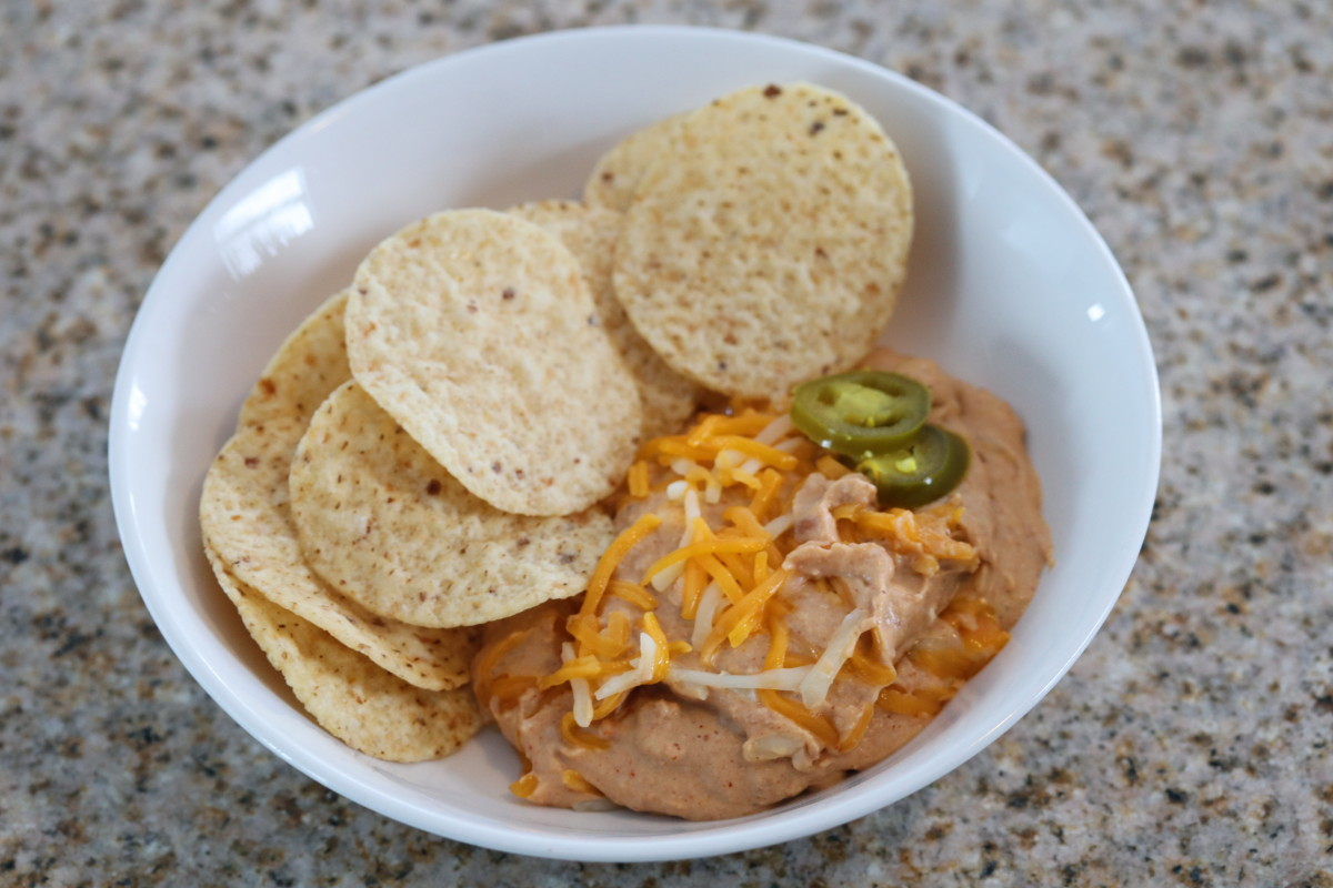 Slow Cooker Crockpot Texas Trash Warm Bean Dip Recipe