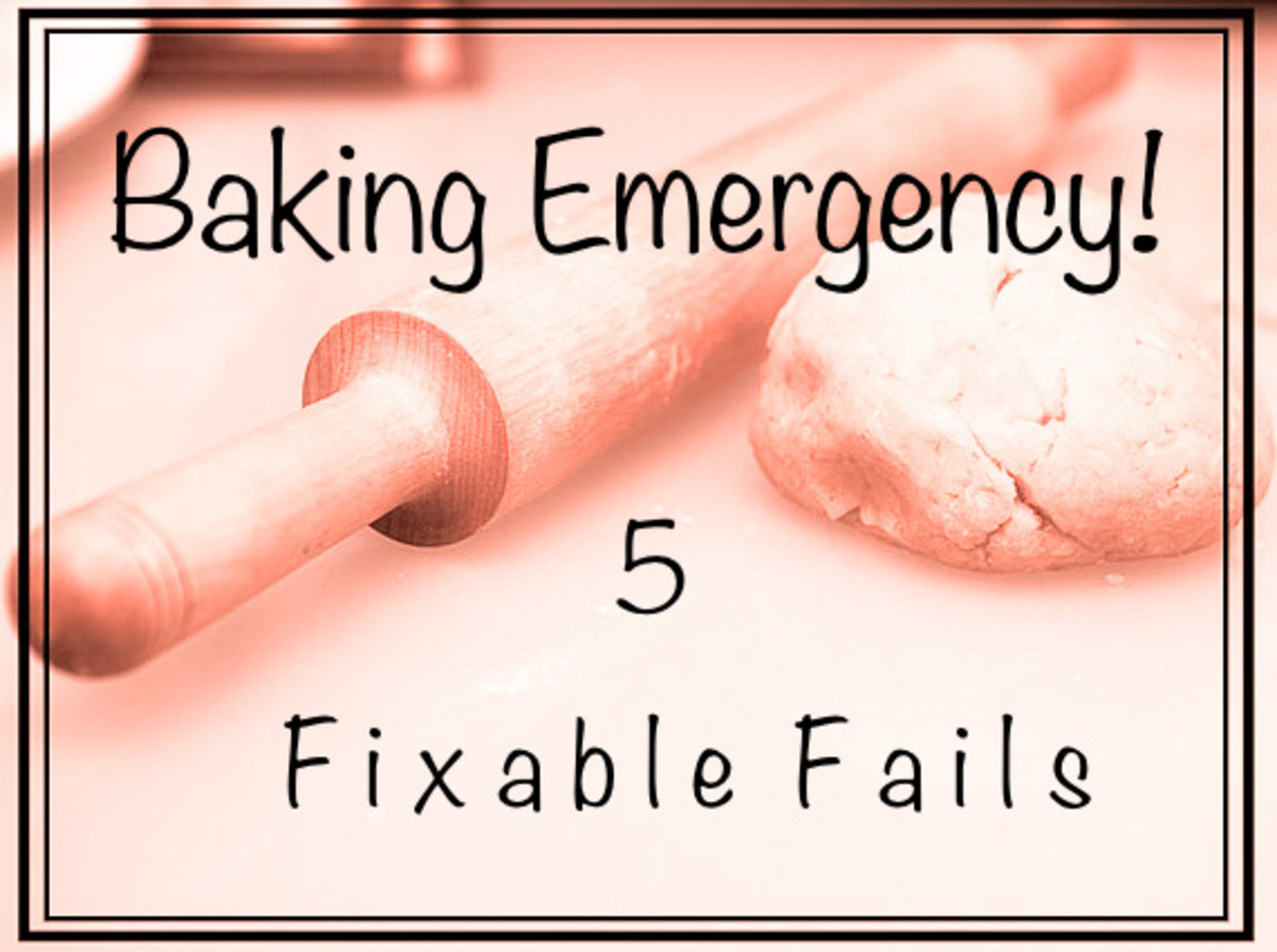 Baking Emergency: 5 Fixable Fails