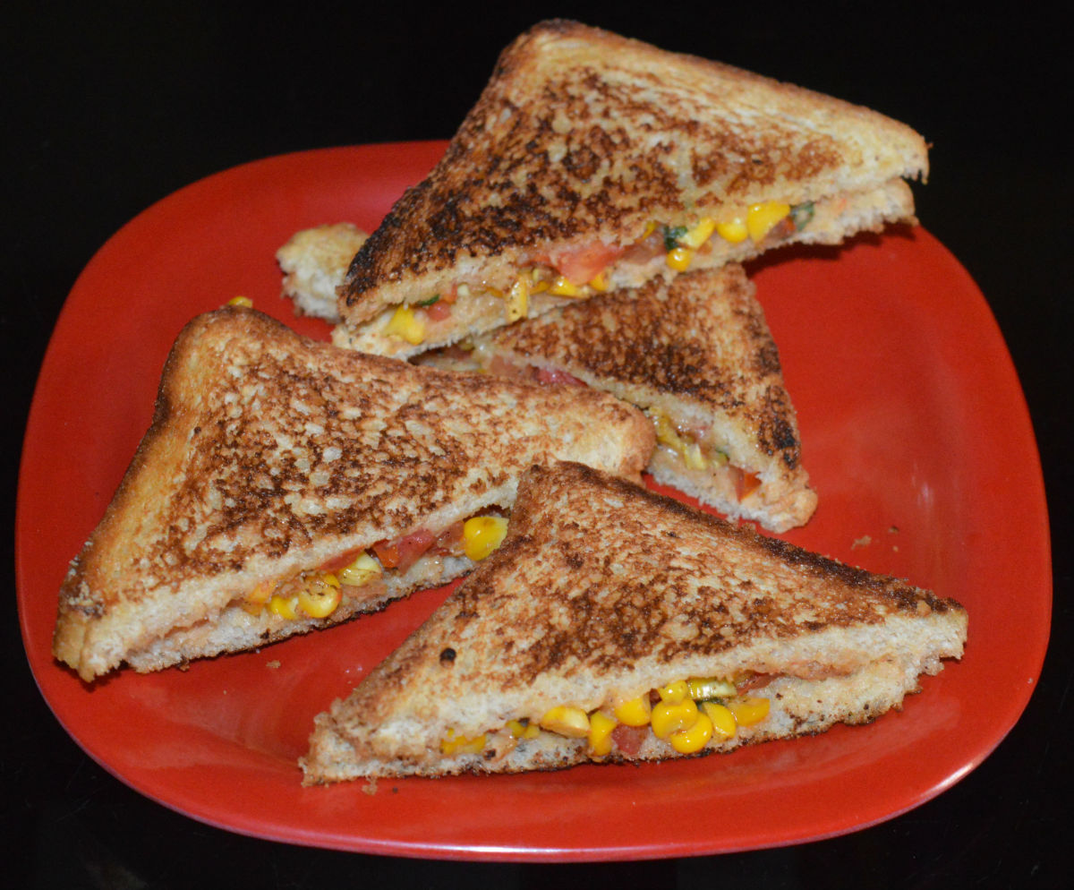 Italian-Inspired Sweet Corn Sandwich