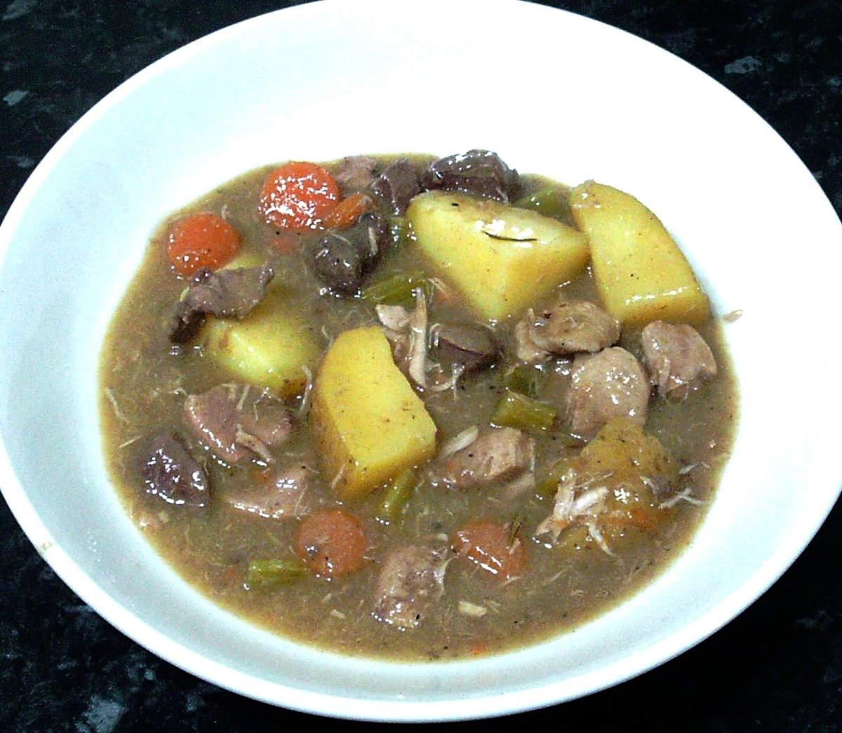 Pheasant, Pigeon and Woodcock Wild Game Stew Recipe