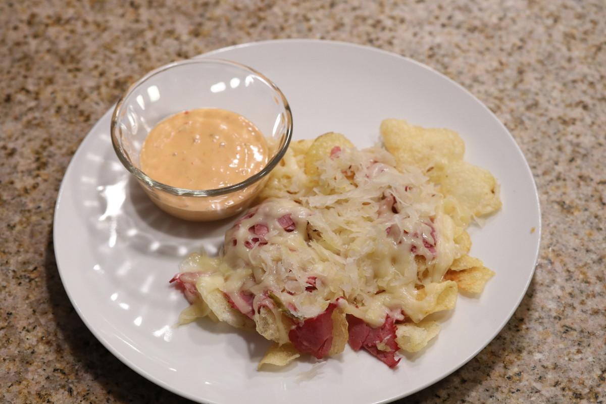 reuben-nachos