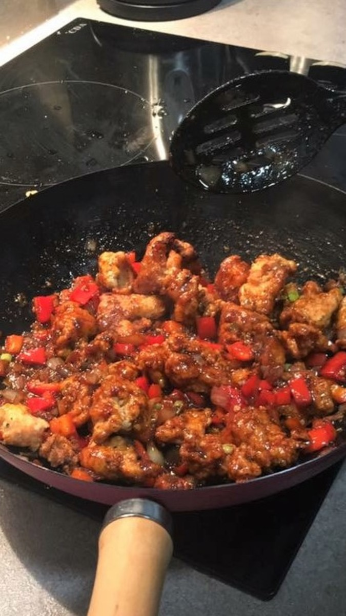 Honey Chilli Chicken