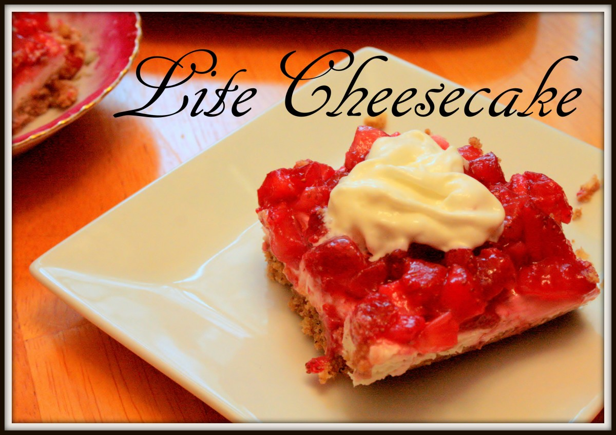 Strawberry Cheesecake for Your Diabetic Sweetie