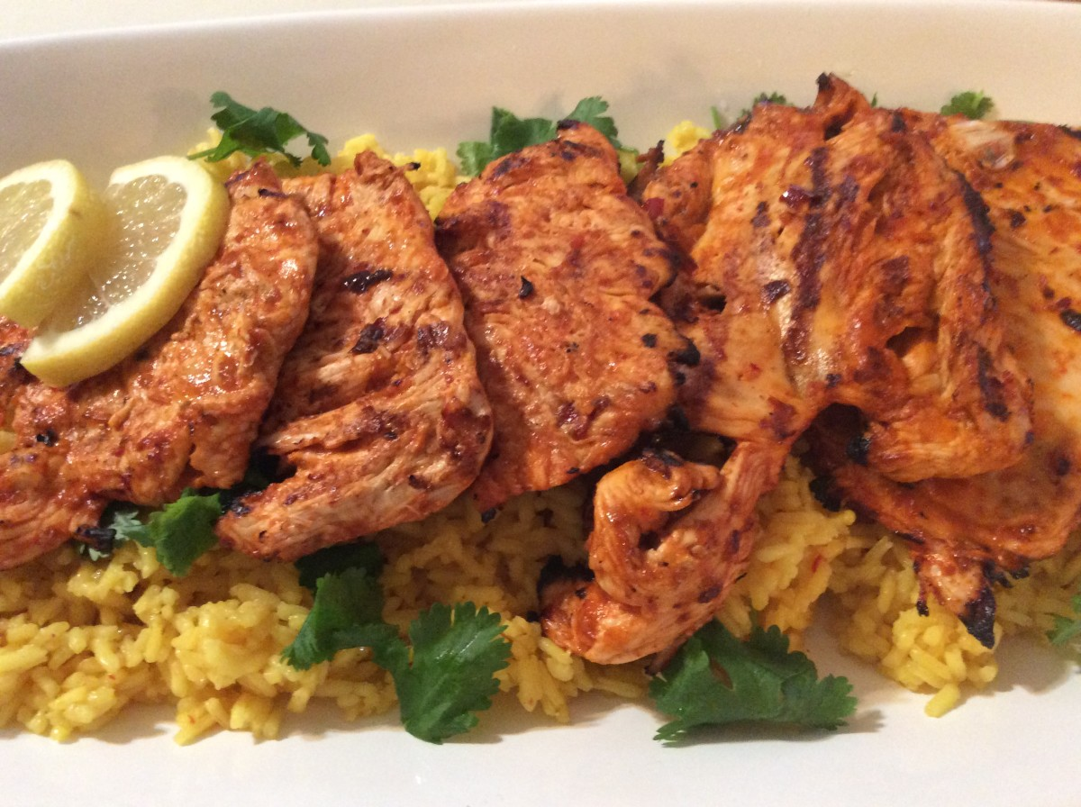 Spicy Piri Piri Chicken