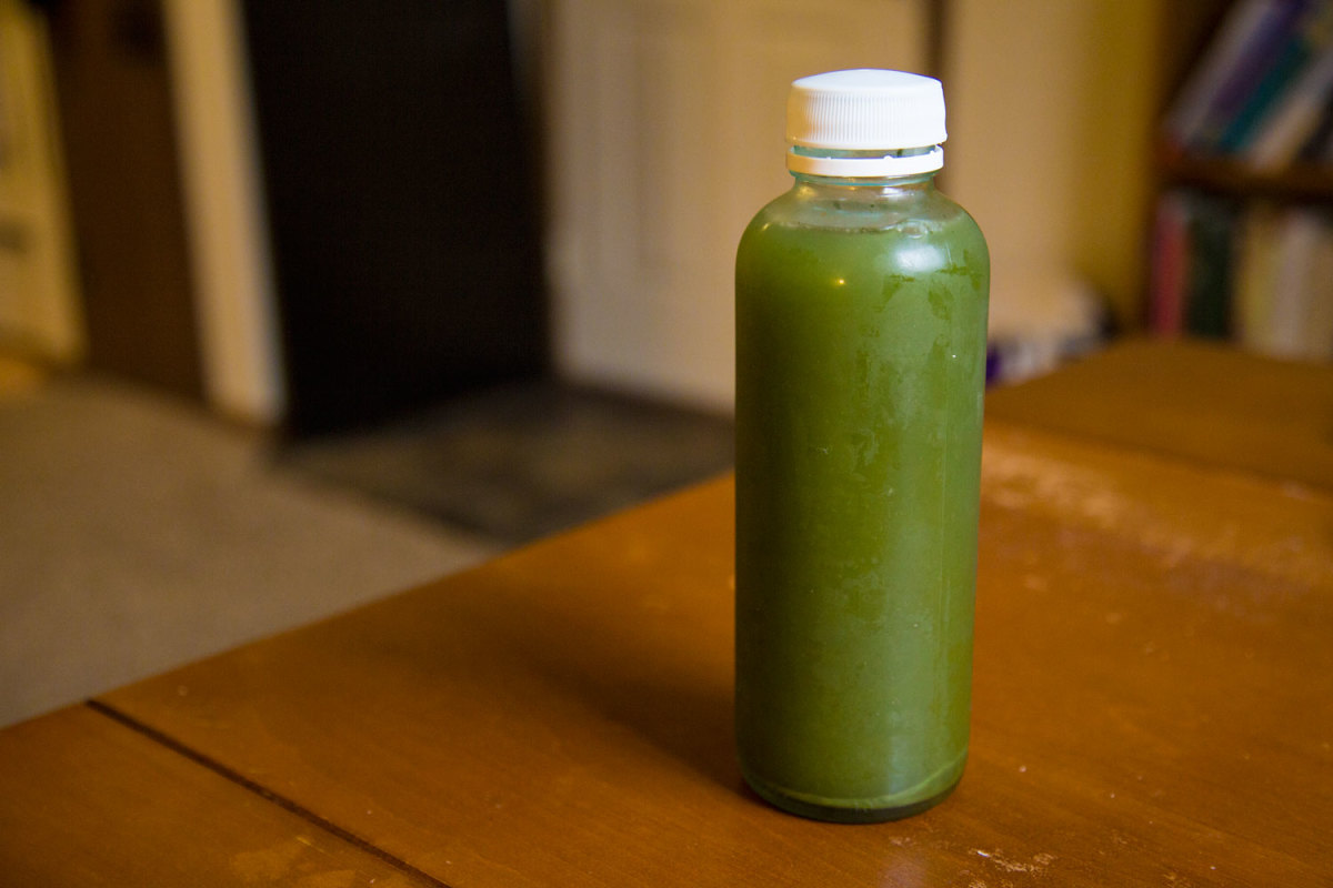Would you try this green kombucha? It's actually super tasty!