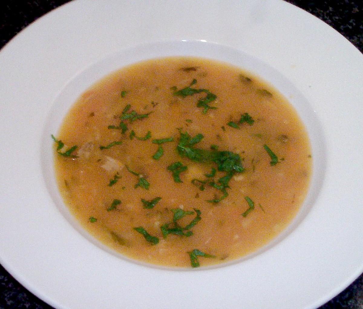 Pheasant Breast Wild Game Soup Recipe