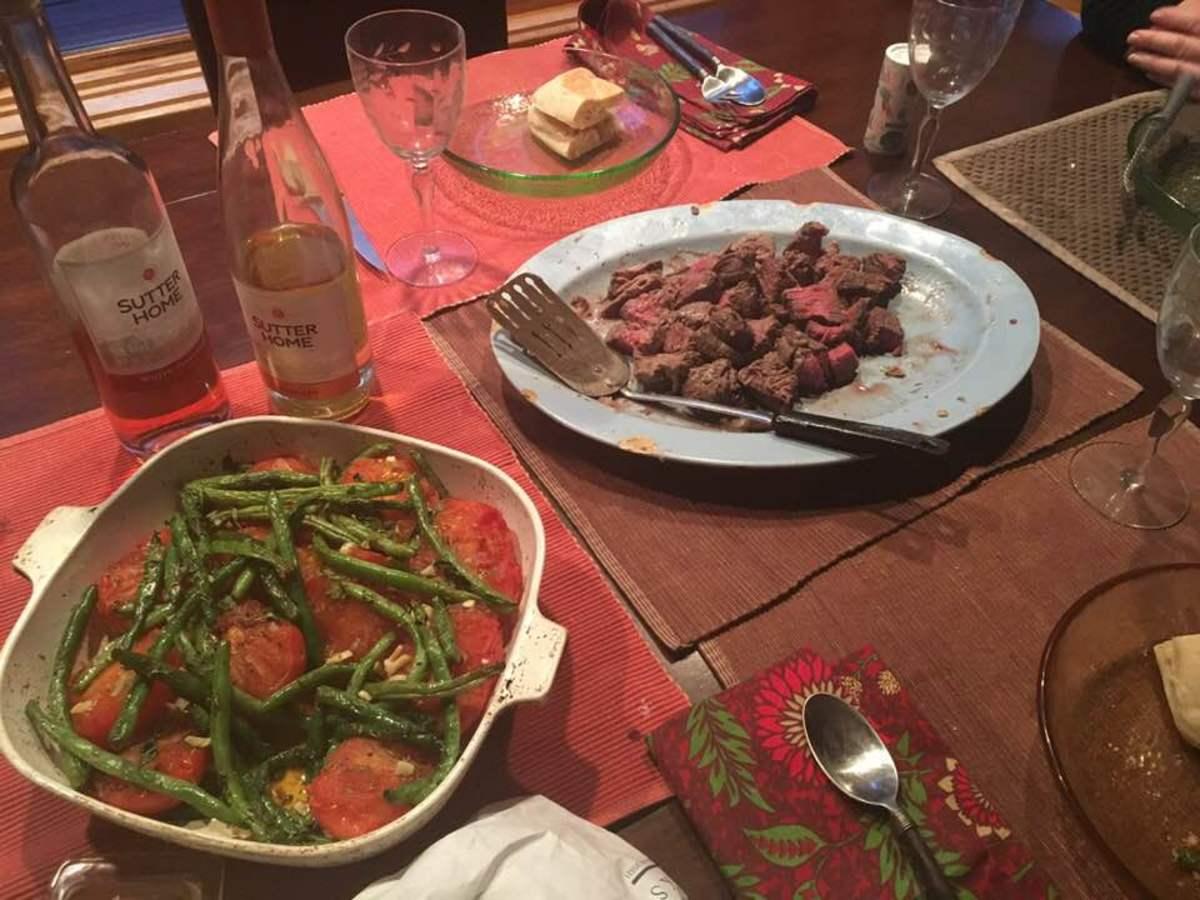 Beef Baked in an Herb-Infused Salt Crust