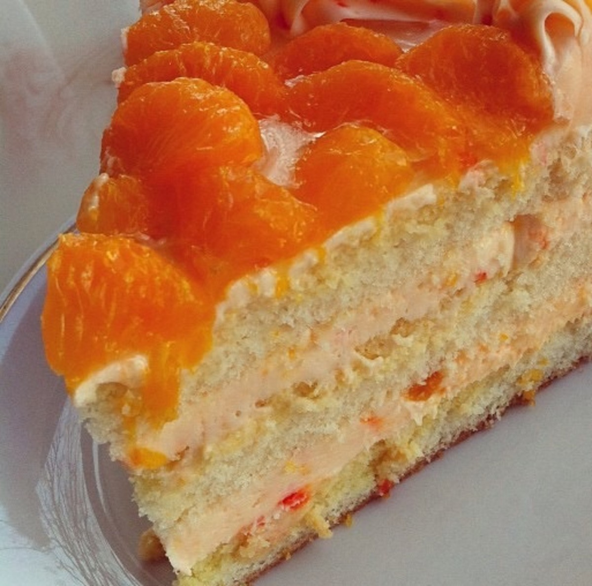 Luscious Mandarin Orange Cake Recipe With a Pineapple Frosting