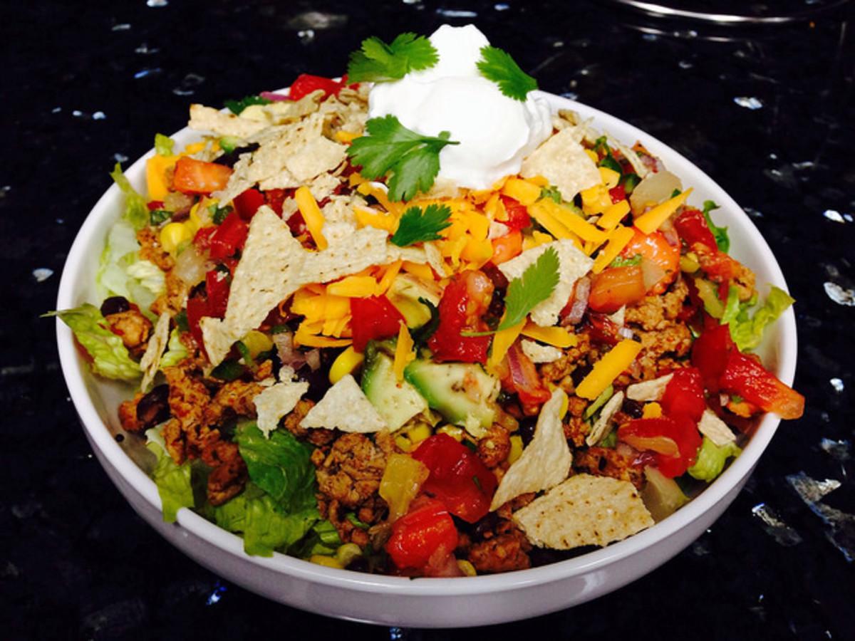 4  Meat, Bean, or Pea Salad Recipes