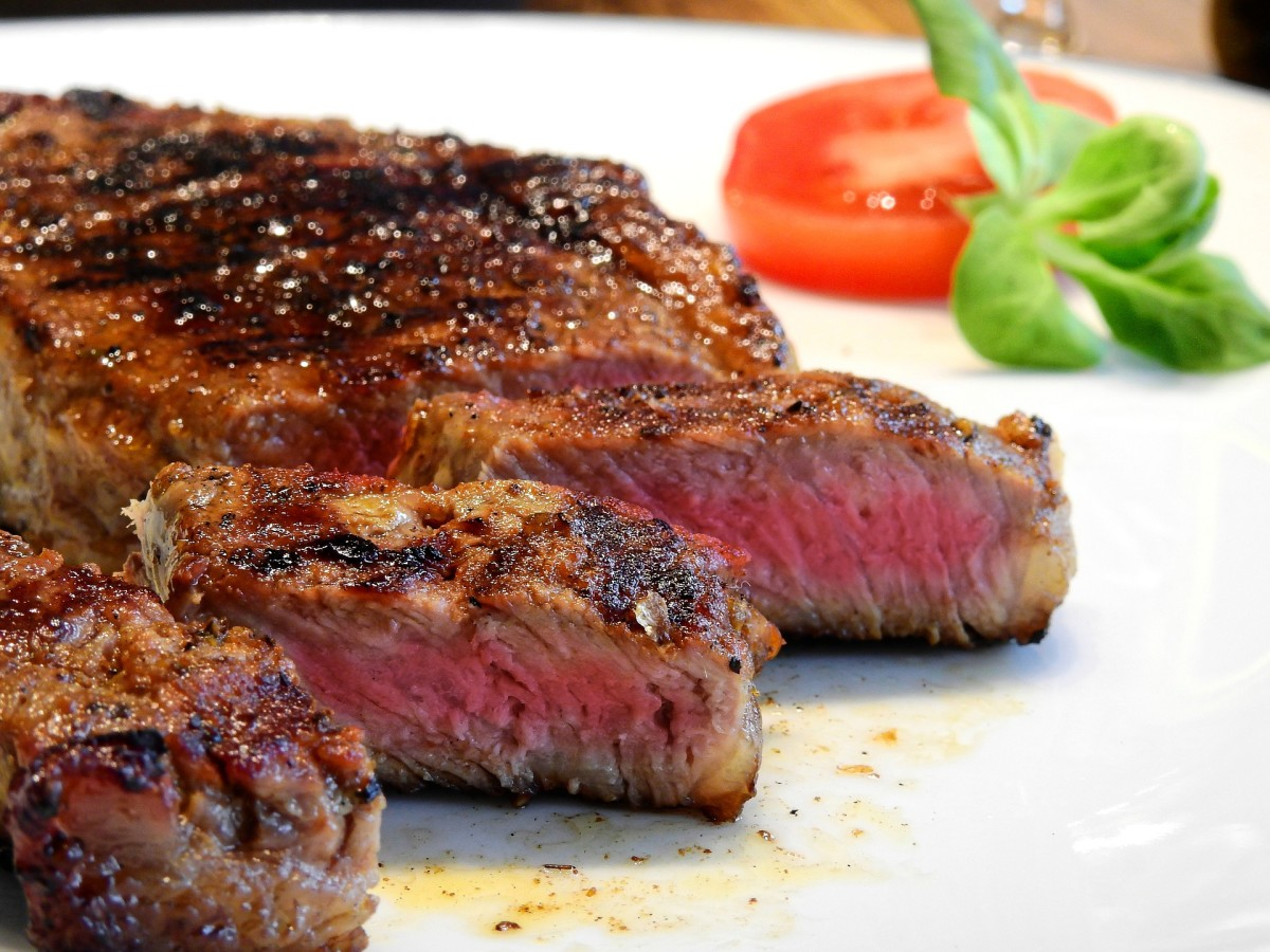 An example of a great looking steak.