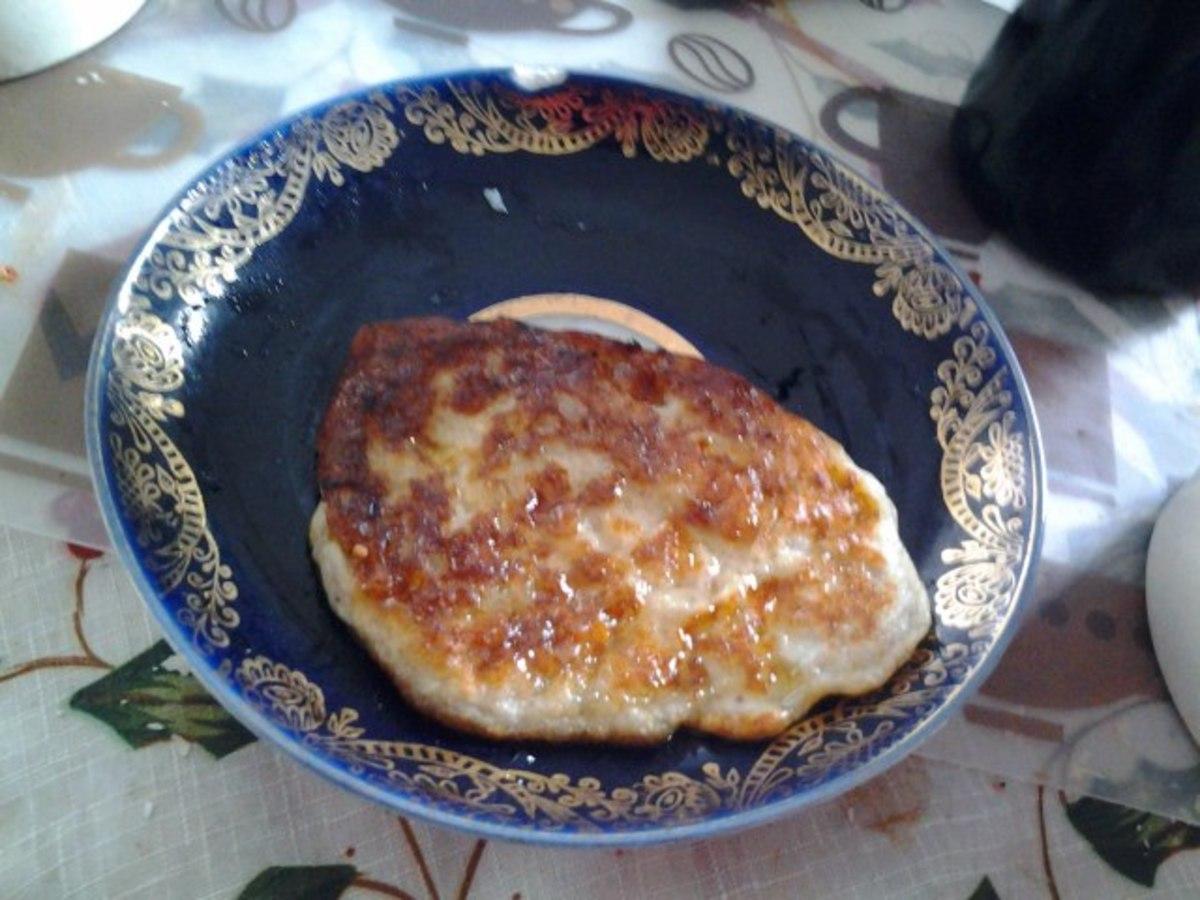 Flour-free pancakes