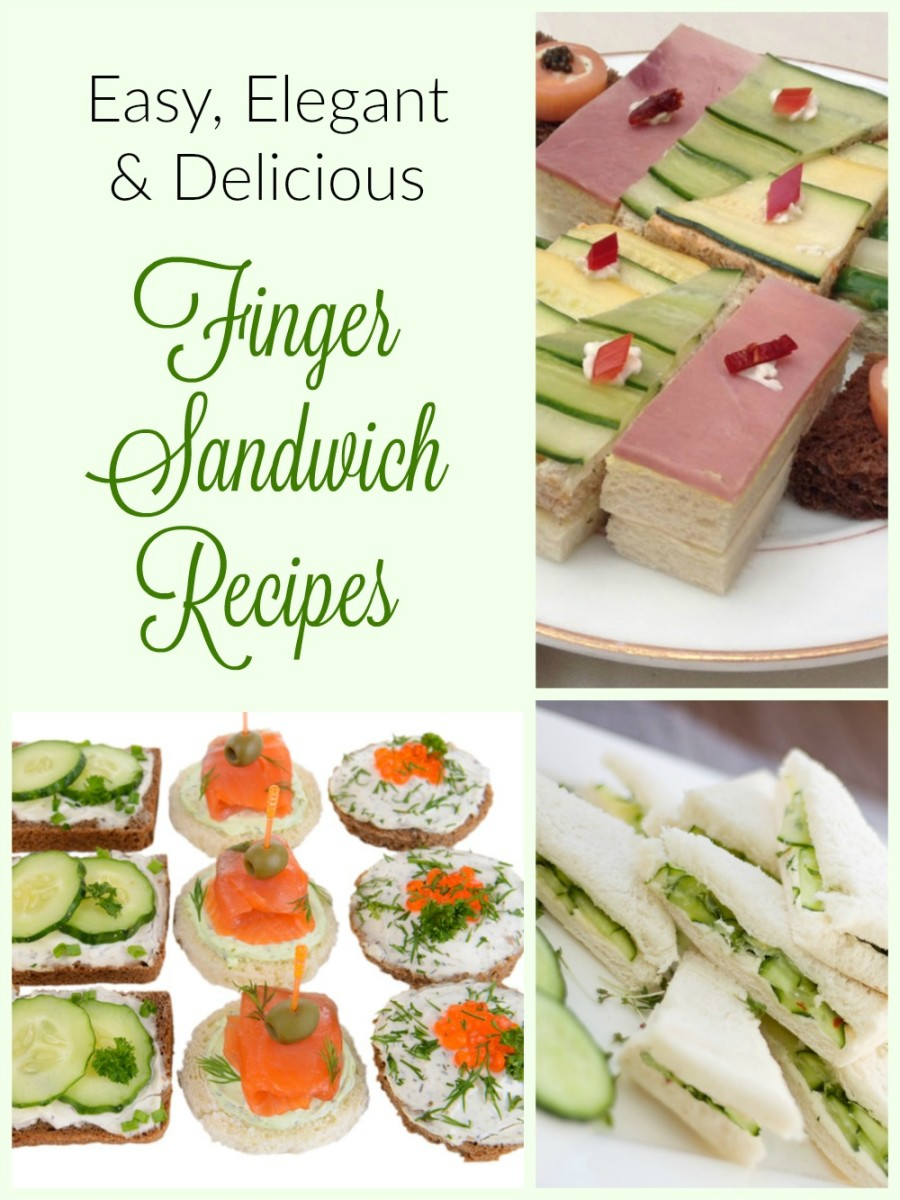 Tea Sandwiches AKA Finger Sandwiches: Delicious Recipes for Special Occasions