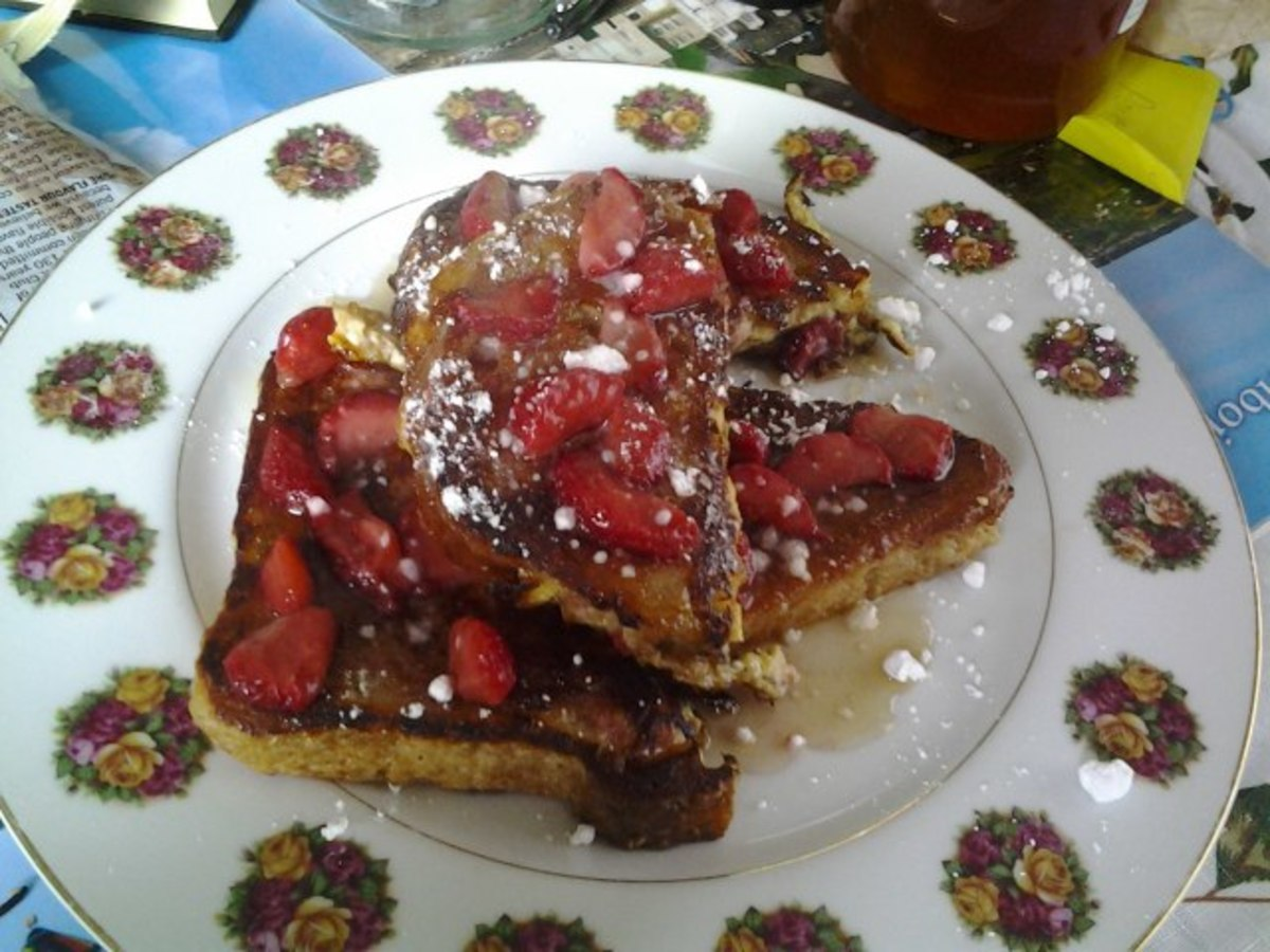 How to Make Russian French Toast: Grenki